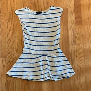 A Line Striped Shirt